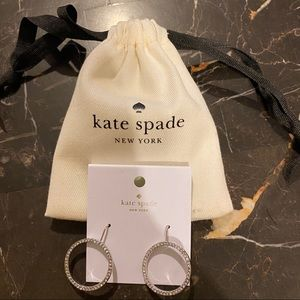 Kate Spade Crystal Circle Earings